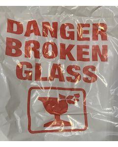 White Broken Glass Sacks 200pk
