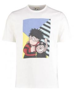 Beano Adult Original Colour Block T Shirt Large