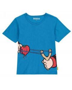 Beano Kids Catapult T Shirt Blue X Large
