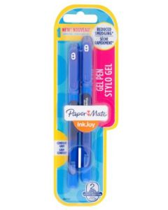 Paper Mate Inkjoy Gel Capped Blue 12 x 2pk