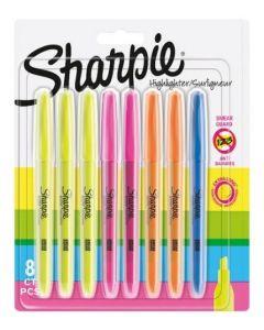 Sharpie Assorted Highlighter 8pk
