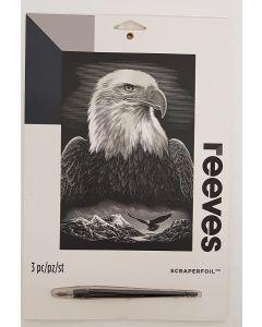 Reeves Scraperfoil Silver Eagle 6pk