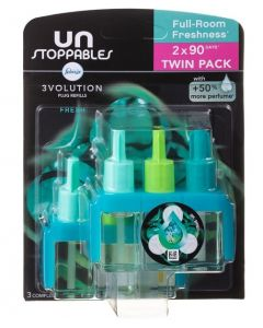 Febreze Unstoppables 3Volution Twin Pack x 5pk