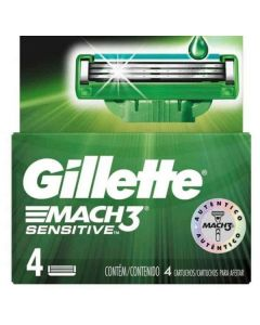 Gillette Mach 3 Sensitive 10x4pk