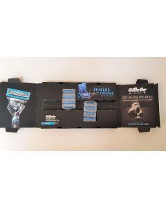 Gillette Fusion Proshield Chill Razor Blades 2x4pk