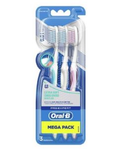 OralB Extra Soft Criss Cross Toothbrush 6 x 3pk