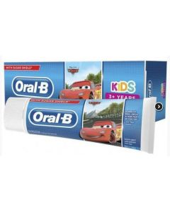 Oral B Kids Toothpaste Frozen Cars 12 x 75ml
