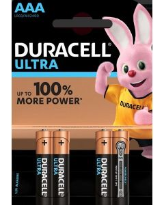 Duracell Ultra AAA Batteries 10 x 4pk