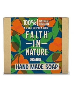 Faith in Nature Orange Hand Soap Bar 6 x 100g