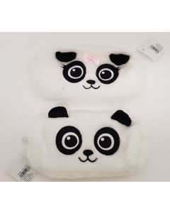 Tiger Faux Fur Panda Pencil Case 18pk