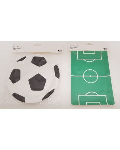 Tiger Football Paper Plates 36pk