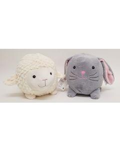 Tiger Sheep & Bunny Coin Bank 4pk