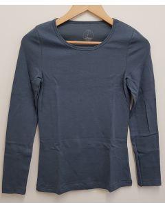 Petit Bateau Womens Round Neck LS T Shirt X Small