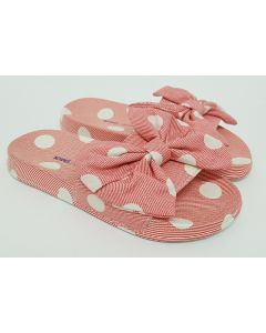 Cath Kidston Jr Button Spot Twill Sliders UK 11