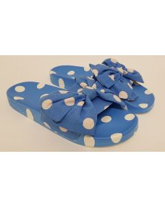 Cath Kidston Button Spot Sliders Blue UK 5