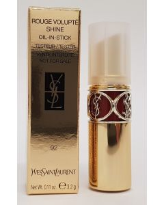 YSL Rouge Volupté Shine Tester Lipstick Shade 92