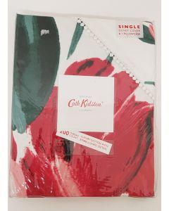 Cath Kidston LargePaint Flowers Duvet Cover Single