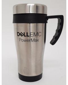 Branded Silver Travel Mug