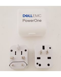 Branded Travel Adapter in Case