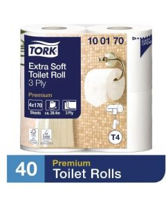 Tork Premium Toilet Roll 40pk