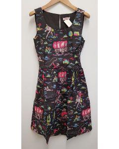 Cath Kidston Cotton Slub Sleevless Dress UK 12