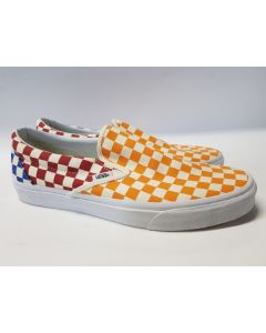 Vans Unisex Classic Slip On Check Multi/W EU45