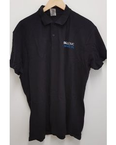 Corporate Branded Unisex Polo Shirt Black XL