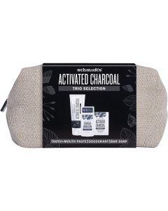 Schmidt's Activated Charcoal Trio Gift Set