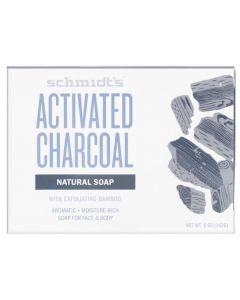 Schmidt's Activated Charcoal Natural Soap 24pk