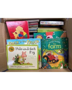 Pre-Loved 40 Children's Early Years/KS1 Books 14kg