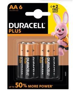 Duracell Plus AA Batteries 10 x 6pk