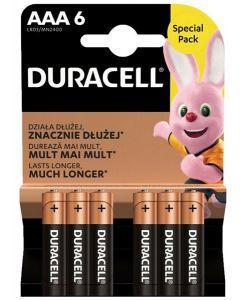 Duracell Plus AAA Batteries 10 x 6pk