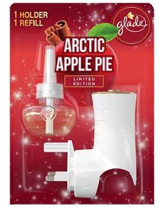 Glade Electric Scented Oil Holder & Refill  4pk
