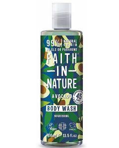 Faith in Nature Avocado Body Wash 6x400ml