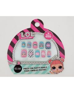 LOL Surprise Press on Party Nails 24pk