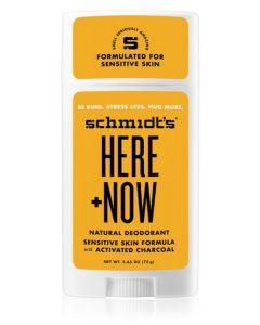 Schmidt's Here + Now Deodorant Stick 12x58ml