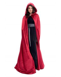 Adult Red Cloak Dress Up One Size