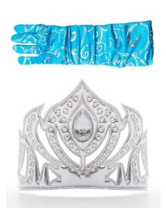 Ice Princess Crown & Gloves Dress Up