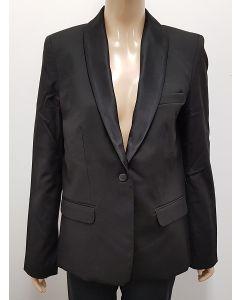 YSL Womens Black Uniform Blazer EU42