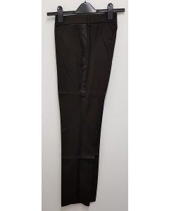 YSL Womens Black Uniform Trousers Unfinished  EU36