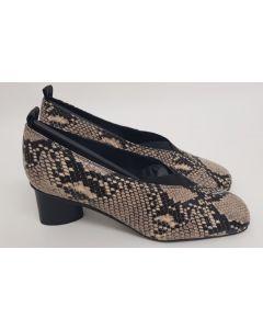 52 Degrees Court Snake Leather UK6