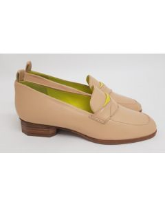 52 Degrees Loafer Apricot Leather UK4