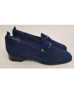 52 Degrees Loafer Blue Suede UK4