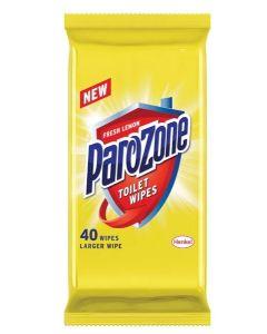 Parazone Toilet Wipes  7 x 40pk