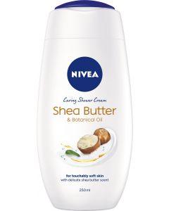 Nivea Shea Butter Caring Shower Cream 6 x 250ml