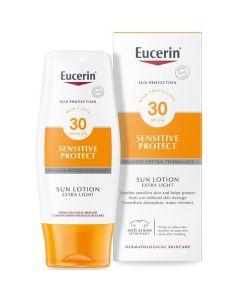 Eucerin Sensitive Sun Lotion Light SPF30 3 x 150ml