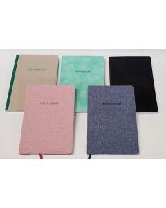 Tiger A5 Planner Notebook Assorted 20pk
