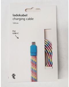 Tiger USB Charging Cable Multicoloured 18pk