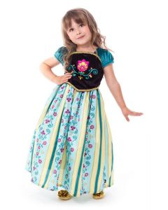 Scandinavian Princess Coronation Dress Up 1-3yrs