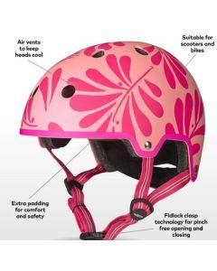 Micro Childrens Girls Helmet 48-54cm Small